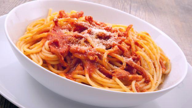 spaghetti-amatriciana