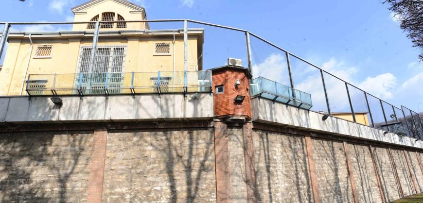 Il carcere di Canton Mombello di Brescia dove e' avvenuta stamane un evasione - fotografo: stefano cavicchi / corriere d sera