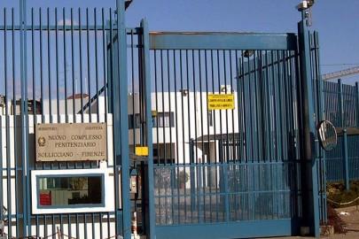 20030304-AREZZO-CRO. Il carcere di Sollicciano dove è detenuta la terrorista Nadia Desdemona Lioce. MARCO BUCCO/ANSA.