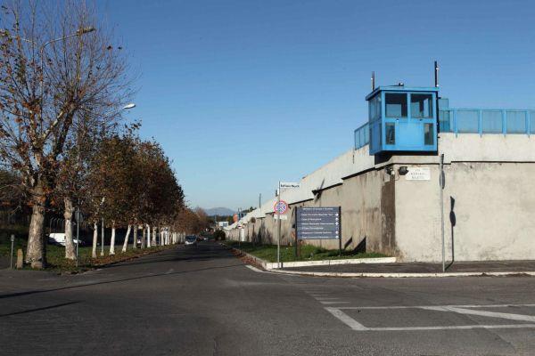 WCENTER 0TMBAHUJKD MASSIMO BARSOUM AGENZIA TOIATI Roma, quartiere Ponte Mammolo Nella foto: il carcere di Rebibbia