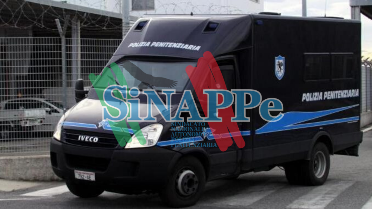 automezzi pol pen sinappe polizia penitenziaria sindacato