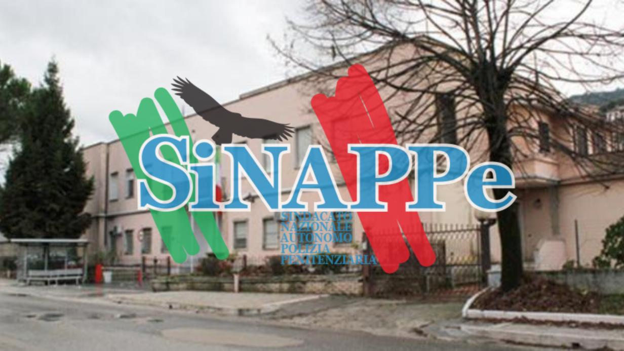 casa circondariale cassino frosinone carcere sinappe sindacato autonomo polizia penitenziaria agenti guardia di custodia