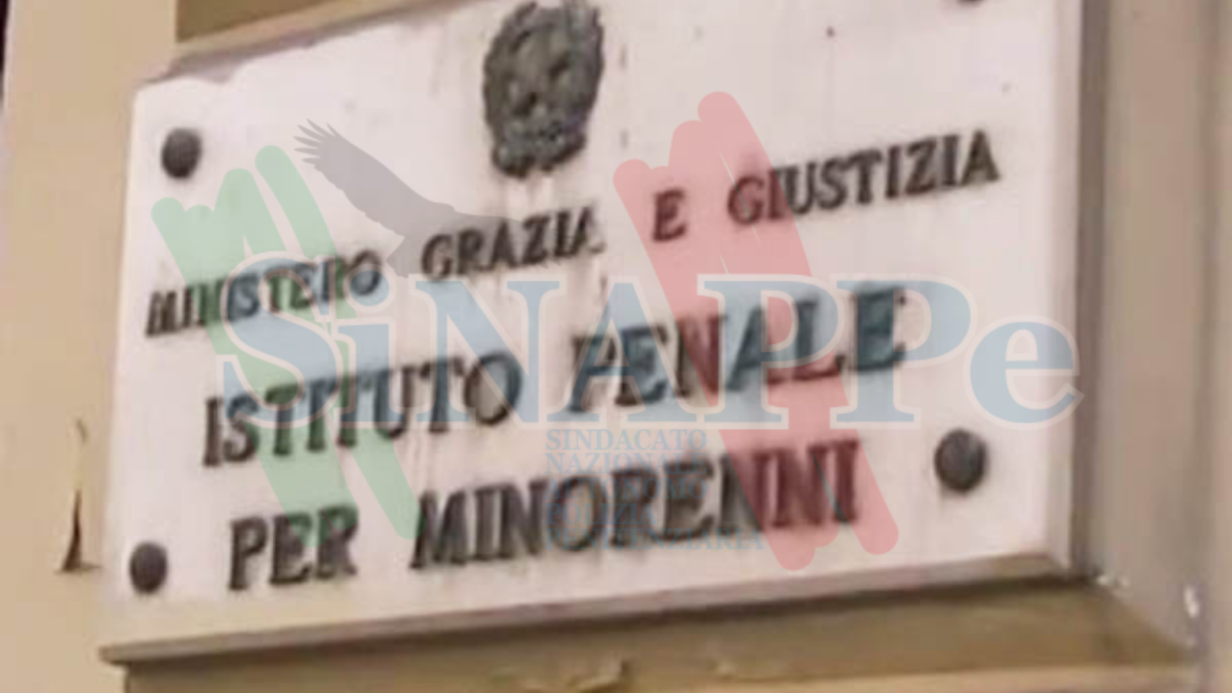 istituto pena minori aitola sinappe sindacato polizia penitenziaria
