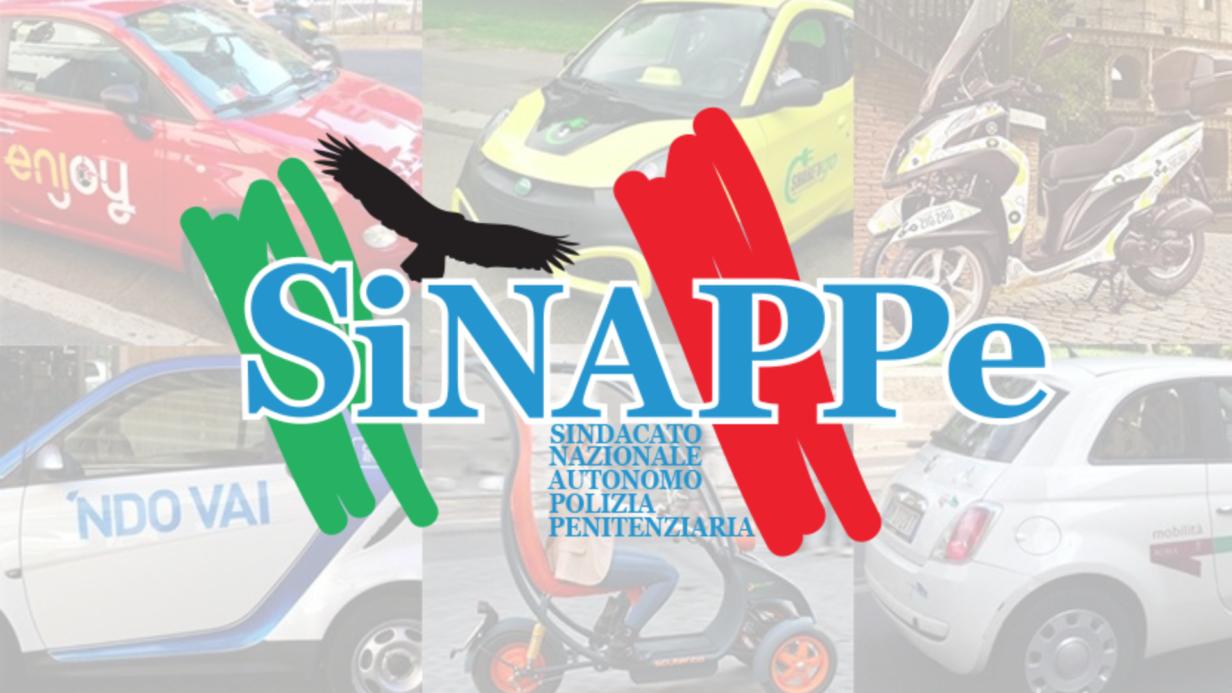 CAR SHARING ROMA CONVENZIONE POLIZIA PENITENZIARIA SINAPPE SINDACATO