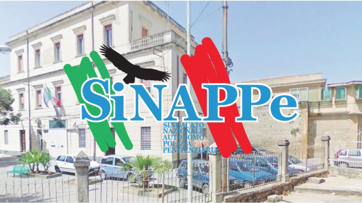 carcere caltanissetta sinappe sindacato polizia penitenzairia