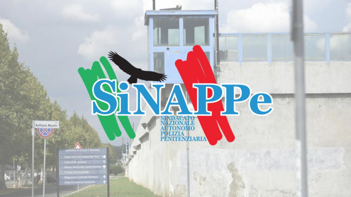 rebibbia lazio carcere roma sinappe sindacato polizia penitenziaria sindacato pol pen