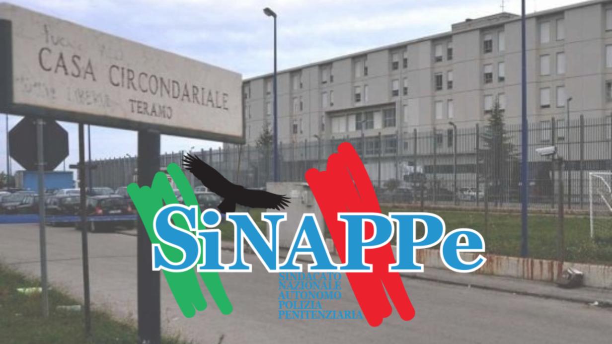 teramo carcere sinappe sindacato polizia penitenziaria